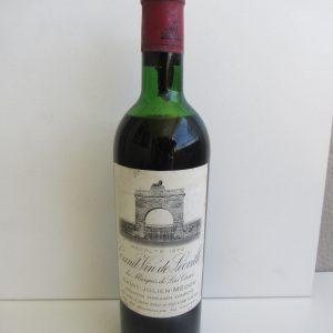 Grand Vin de Leoville du Marquis de Las Cases Saint Julien Medoc