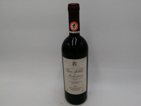 1987 Vino Nobile di Montepulciano TENUTA DI GRACCIANO DELLA SETA DOCG