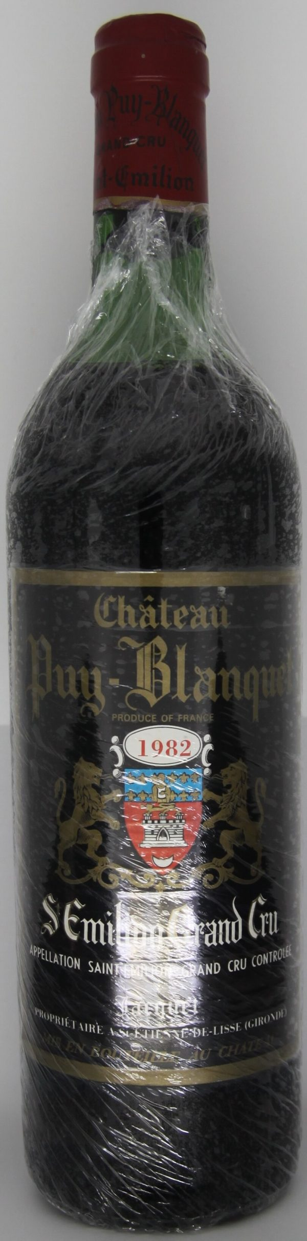 1982 Chateau Puy Blanquet