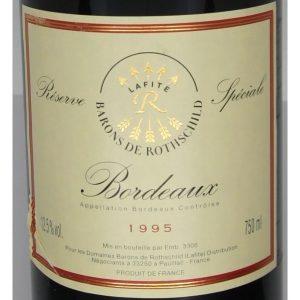 Lafite Rothschild Reserve Speciale Bordeaux
