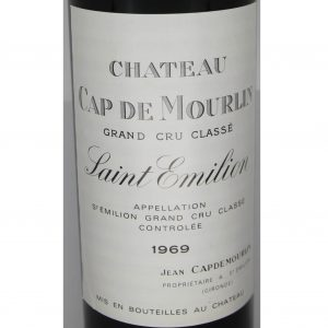1969 Chateau Cap de Mourlin Saint-Emilion Grand Cru